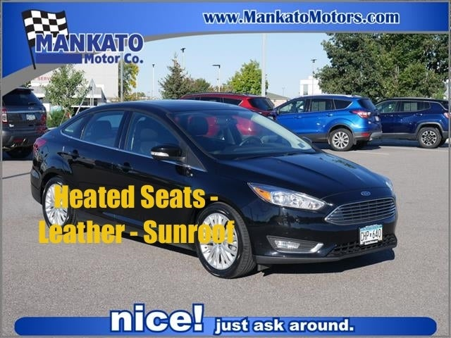 Used 2018 Ford Focus Titanium with VIN 1FADP3J22JL204920 for sale in Mankato, Minnesota