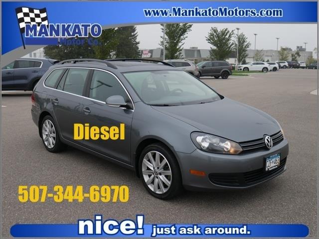 Used 2012 Volkswagen Jetta SportWagen TDI with VIN 3VWPL7AJ2CM700431 for sale in Mankato, Minnesota
