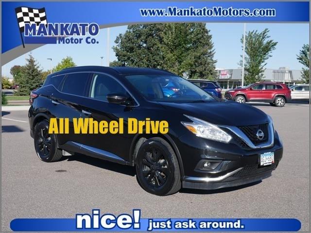 Used 2017 Nissan Murano SV with VIN 5N1AZ2MHXHN113602 for sale in Mankato, Minnesota